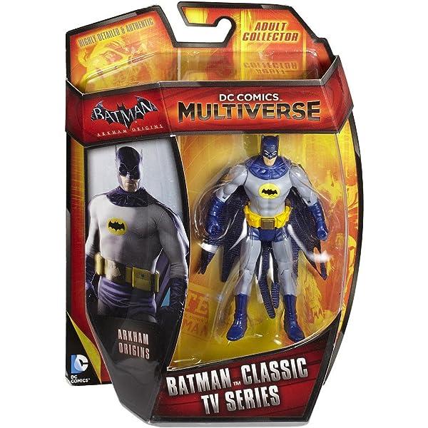 DC Comics Multiverse Batman Arkham Origins Knightfall Batman 4 Action Figure Mattel CDW52