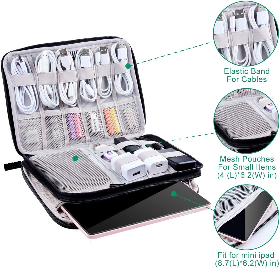 Electronic and Cord Organizer