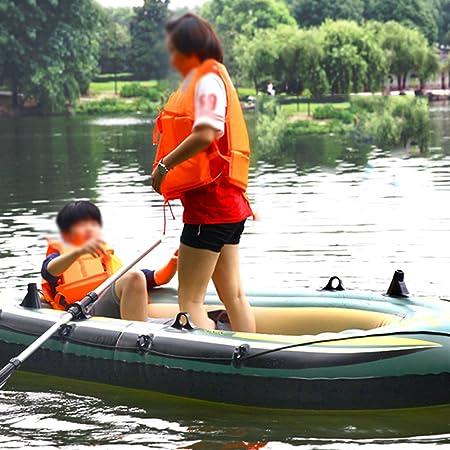 Kayak Inflable, Bote De Goma, Bote Hinchable Resistente Al Desgaste Grueso, Kayak, Bote De Asalto, Bote De Pesca 2/3/4 Persona, Bote Salvavidas De ...
