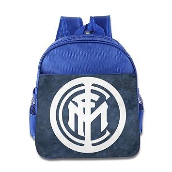 Fútbol Club Internazionale Milano Inter Milan Logo mochila niños escuela bolsas azul eléctrico: Amazon.es: Electrónica
