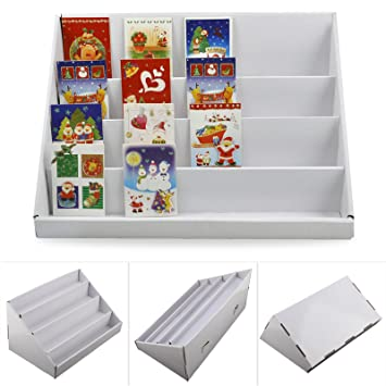 MultiWare Cardboard Display Stand 40 Tiers Greeting Card Stand Custom Cardboard Display Stands Uk