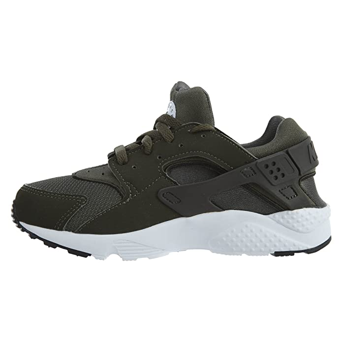 4ffb41f9d8 Amazon.com | Nike Kids Huarache Run PS Olive Green 704949-301 (Size: 13C) |  Running