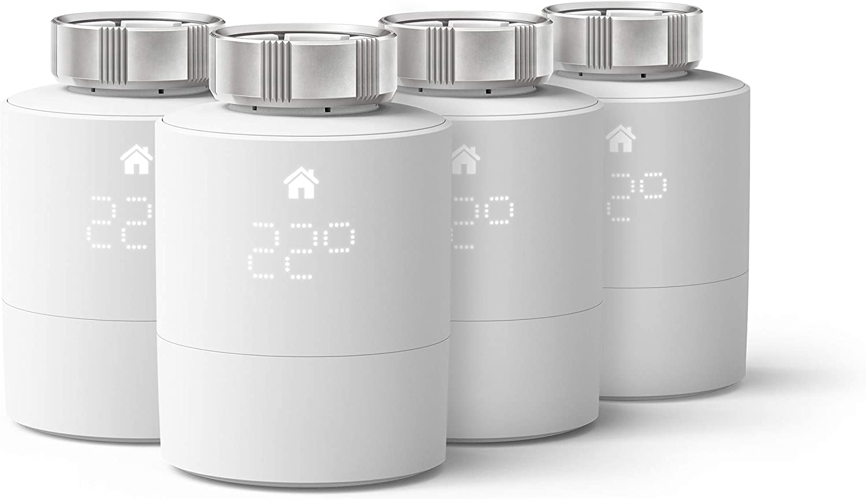 tado° Tête Thermostatique Intelligente - Pack Quattro, accessoire pour le contrôle multi-pièces,...