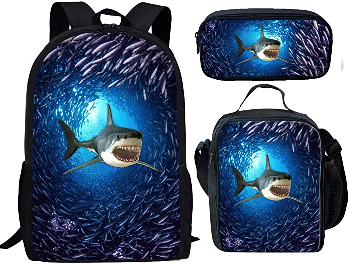 Top 8 Shark Backpack And Lunch Bag