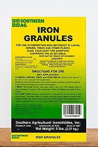 Southern Ag Iron Granules, 5 Pound