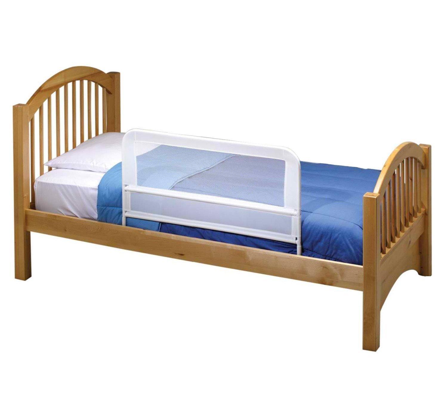 Amazoncom KidCo Childrens Mesh Bed Rail White Baby