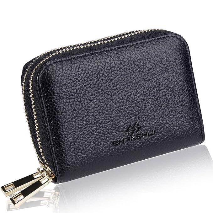Clever New Quality Soft Leather Purse Zip Around Photo & Space Card Holder *gift Box* 100% Original Geldbörsen & Etuis