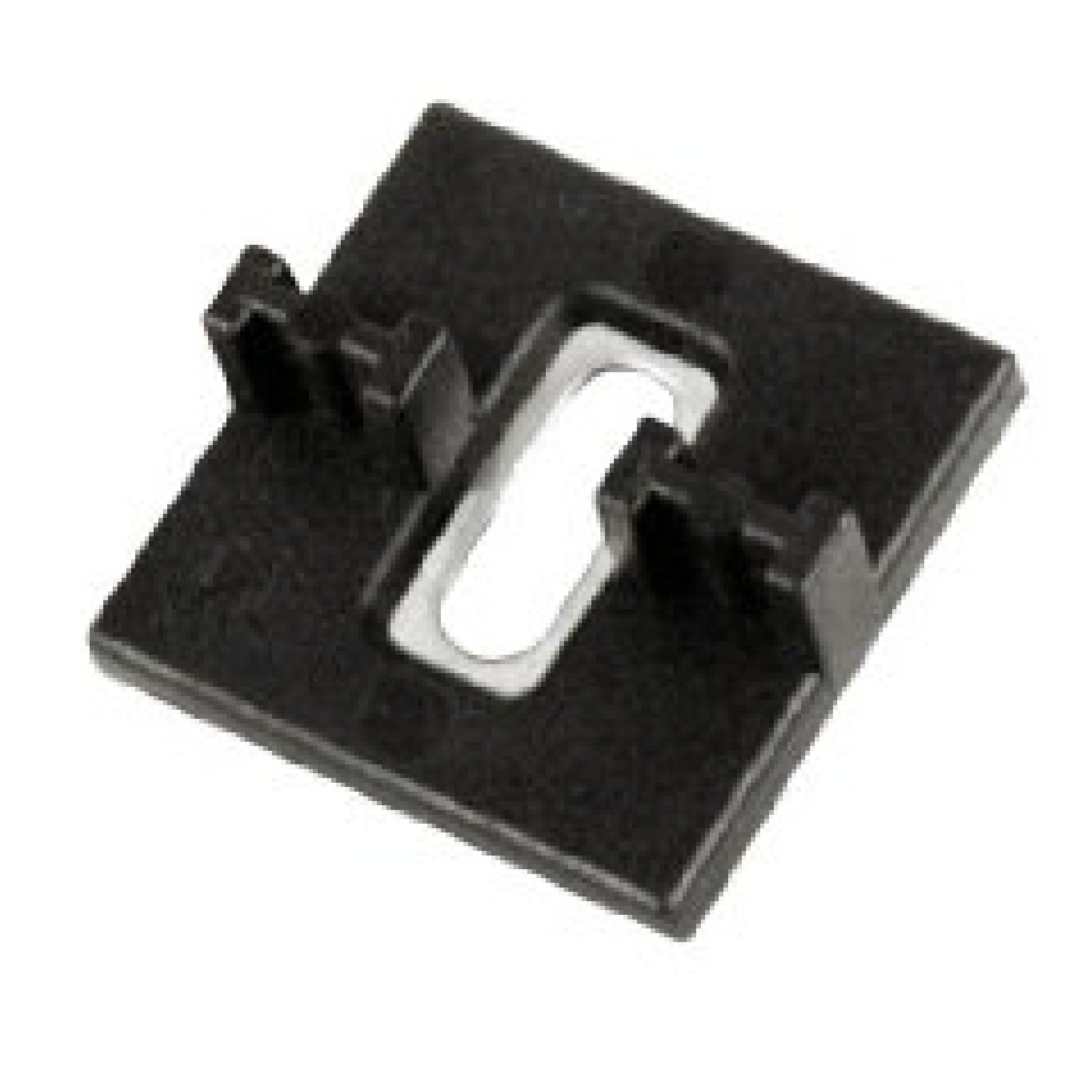Ipe Clip Extreme 4 Fasteners - FOR METAL JOISTS - 525 pcs for 300 sq. ft. - 5/32'' Spacing - Black Clips - Includes Clips & 2-1/4'' Stainless SELF DRILLING SCREWS