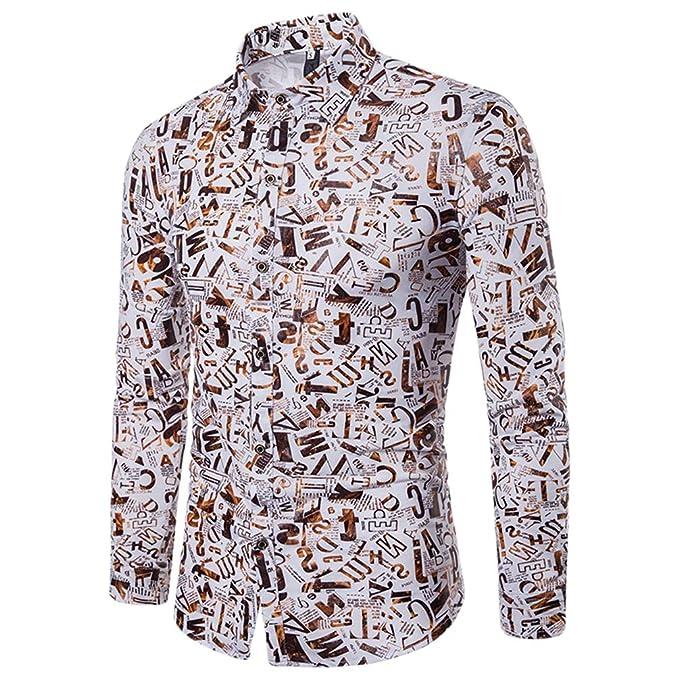 WanYangg Camisas De Hombre 318eaf45cf92c