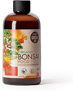 Bonsai Plant Food - Organic Liquid Fertilizer - Gentle Formula for Long Term Health - Excellent for All Live Indoor and Outdoor Bonsai Tree Plants in Pots (8 oz)
