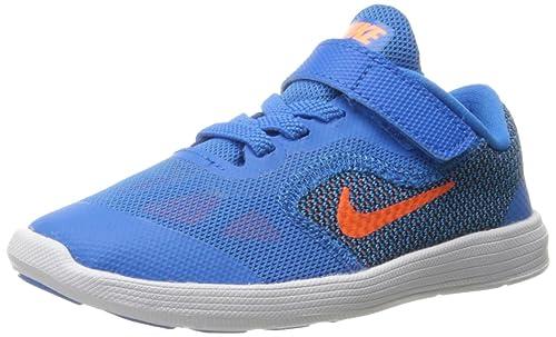 47c87ae1eb6cbd NIKE Boys  Revolution 3 TDV Walking Baby Shoes Multicolor Size  5 Child UK