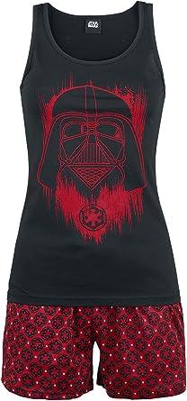 Star Wars Darth Vader Pijama negro/rojo XS: Amazon.es: Ropa
