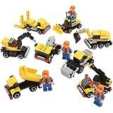 Newisland ブロック エンジニアリング立体パズル 創造力を育てる子供知育玩具セット 197ピース誕生日プレゼント