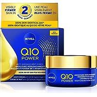 Nivea Q10 Power Anti-Wrinkle + Moisture Replenishment Night Cream With Q10 & Organic Argan Oil, 50 Ml Jar, 50…