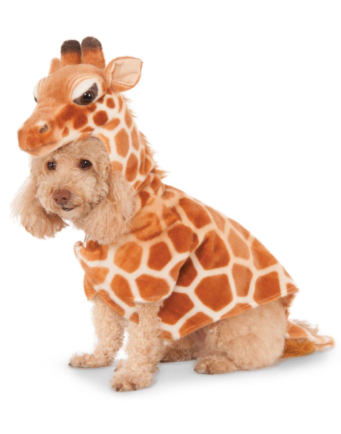 Giraffe Hoodie for Pet, Medium