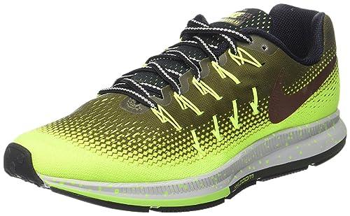 Nike Air Zoom Pegasus 33 Shield 849564-300 - Zapatillas de trail running, Hombre: Amazon.es: Zapatos y complementos