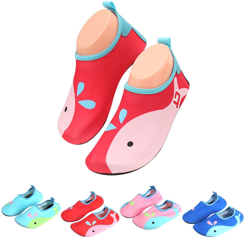 katliu Chaussures d'eau Enfant Bébé Chaussures Filles Garcon Chaussures Aquatiques Chausson pour...