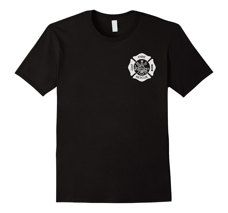 Firefighter Uniform T-Shirt - Official Firemen Gear-FL