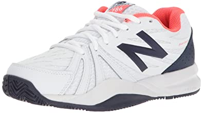New Balance Women's 786v2 Tennis Shoe, Vivid Coral/White, ...