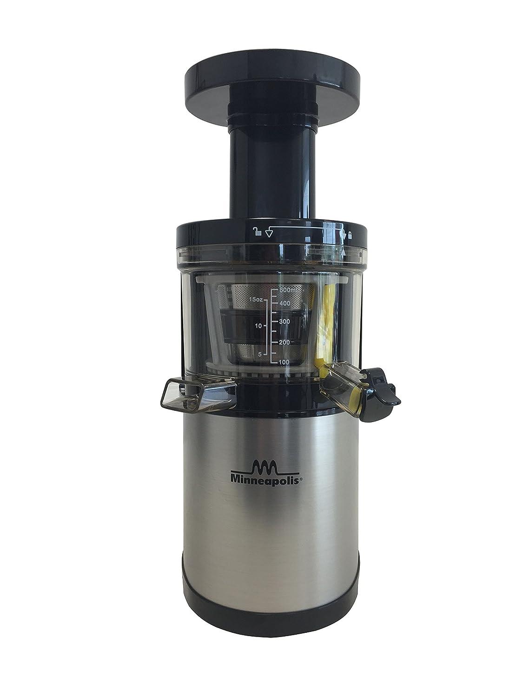 Minneapolis XL Slow Juicer Extractor de jugo frío 37 RPM 250W OFERTA ESPECIAL: Amazon.es: Hogar