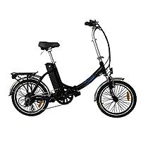 20 Zoll SWEMO Pedelec Alu Falt E-Bike klappbar SW200 (schwarz)