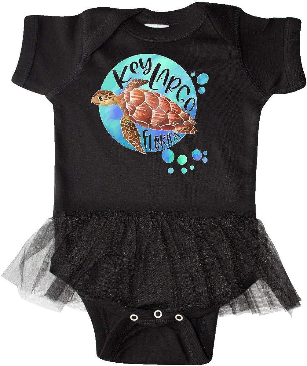 Florida Swimming Sea Turtle with Infant Tutu Bodysuit inktastic Key Largo