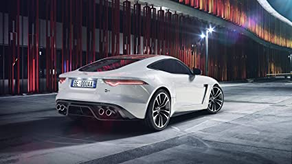 Jaguar F Type Coupe >> Amazon Com Jaguar F Type Svr Coupe Car Poster Print 24x36