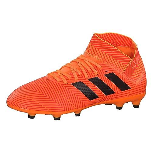 low priced a20f3 10c4f adidas Nemeziz 18.3 Fg J, Scarpe da Calcio Unisex-Bambini, Arancione (Mandar