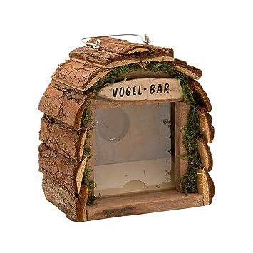 Gardigo Vogel Bar Futterstation Aus Holz Fur Balkon Und Garten