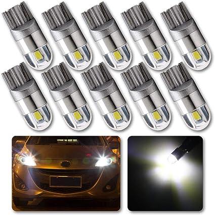 Feux de plaque pour Ford Focus I II 4 ampoules à LED blanc  Feux de position