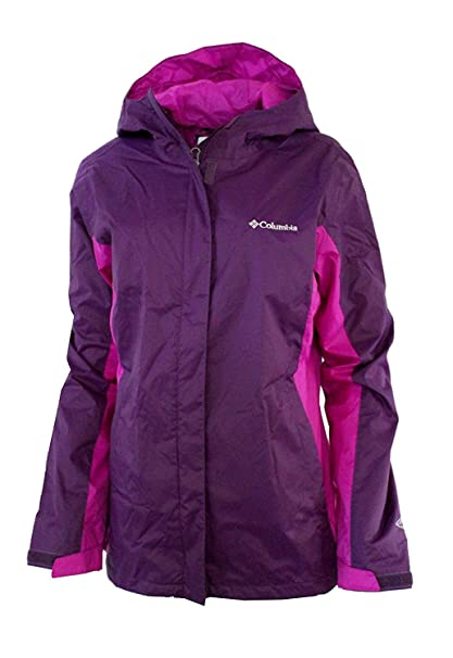details for save up to 60% cheap prices Columbia Women's Timber Pointe Printed Omni Tech Rain Hooded Waterproof  Jacket