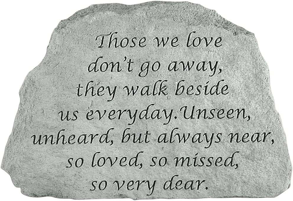 Kay Berry- Inc. 46720 Those We Love Don-t Go Away - Memorial - 6.5 Inches x 4.5 Inches x 1 Inches