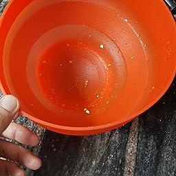Lékué Recipiente para cocinar Palomitas, Rojo, 20 cm: Amazon.es