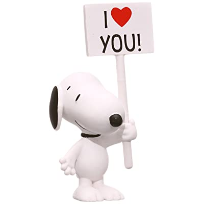 Schleich Peanuts I Love You! Snoopy Figure: Schleich: Toys & Games