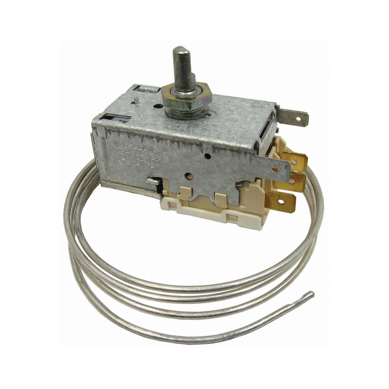 Spares2go regulador de temperatura termostato k59l para de ...