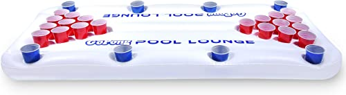 Blue Cup Pool Party Floating Beer Pong