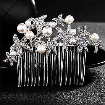 Weddwith Pelo Adornos Peinado accesorios para la novia accesorios ...