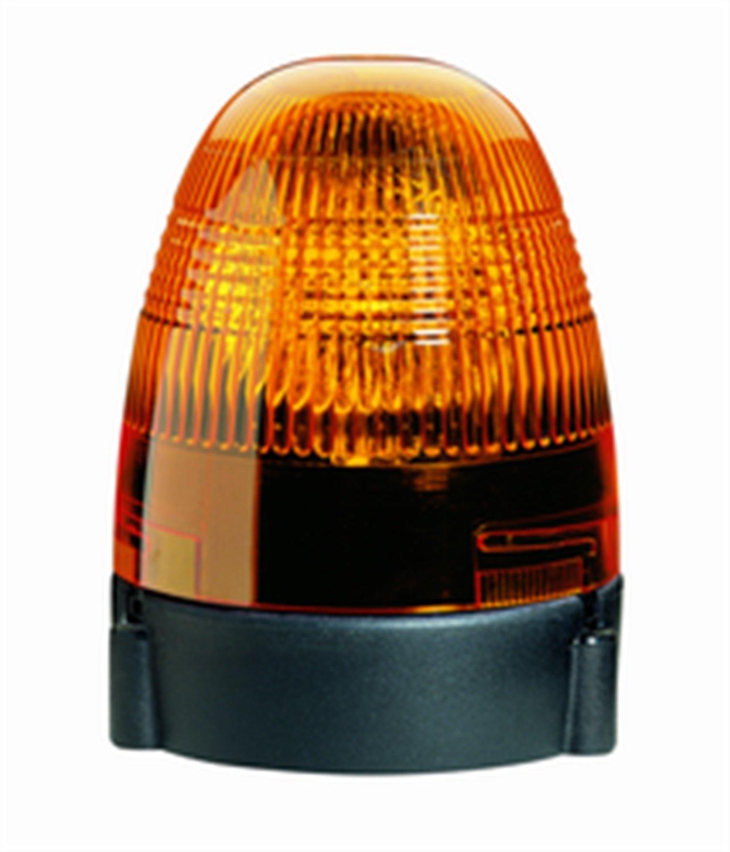 HELLA 007337011 KL Rotafix Fixed Mount Beacon Warning Light 24V Rotating Patterns Amber