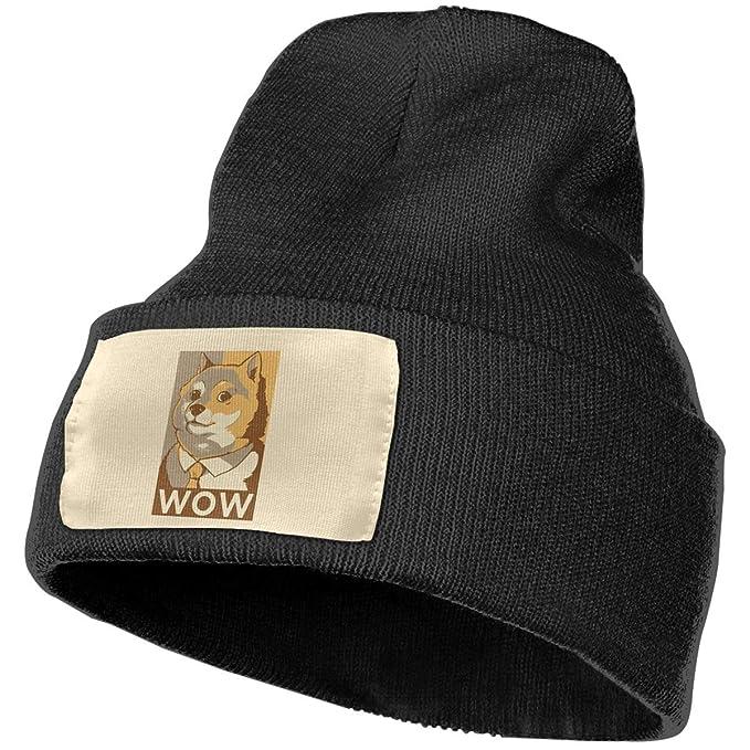 754c1563bd5 Anonymous Guest Knit Hat Cap Doge Women Knit Slouchy Baggy Hat at ...