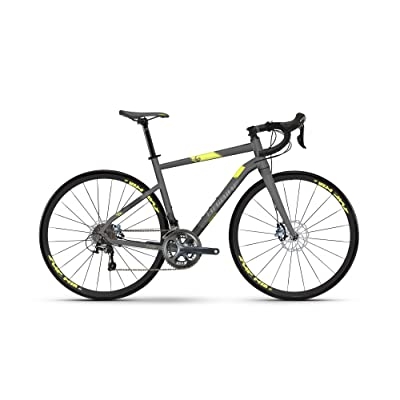 "'Haibike vélo Seet Race 4.028""24-velocità taille 56noir/jaune 2018(ciclocross Gravel)/Bike Seet Race 4.02824-Speed Size 56black/yellow 2018(Cyclocros"