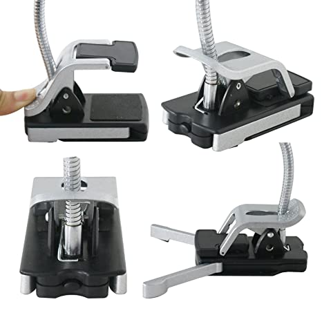 Amazon.com: Helping Hands Desktop Magnifying Work Lamp Glass Third Hands Clamp Magnify Light and Soldering Stand Hobby Light: Health & Personal Care