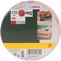 Bosch 2607019491 - Paquete de 25 lijas