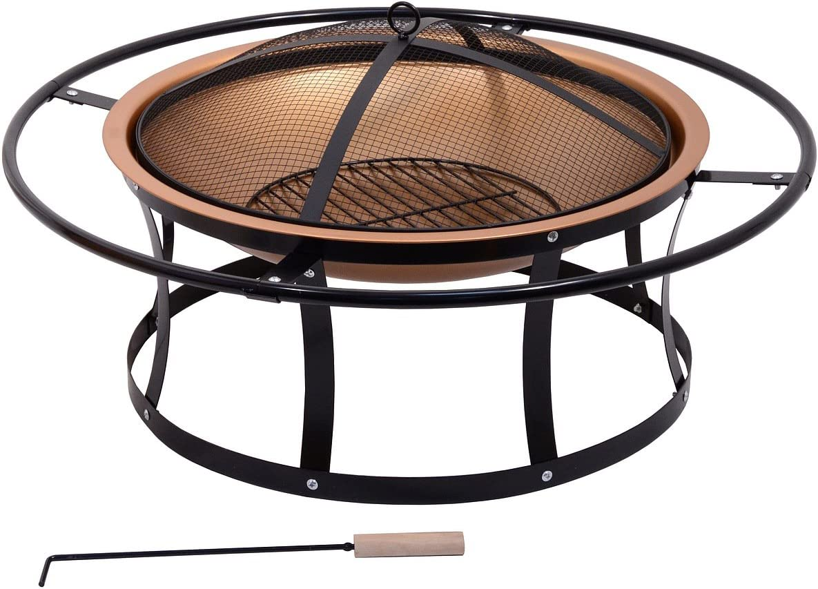 Cattara 13005/Etna Fire Pit with Lid