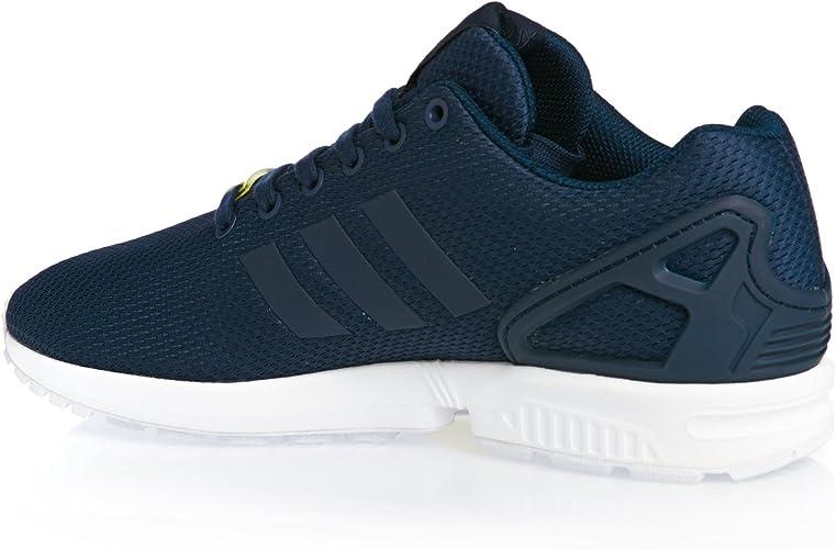como el desayuno cuatro veces Sembrar  adidas Zx Flux, Unisex Adults Training Running Shoes, Blue (New Navy/New  Navy/Running White), 9 UK (43 1/3 EU): Amazon.co.uk: Shoes & Bags