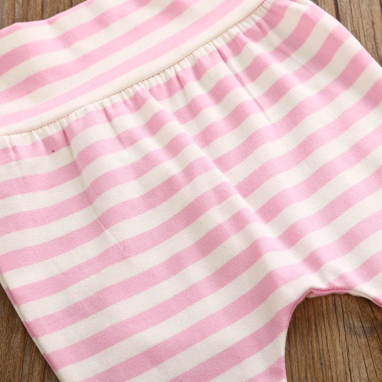 SMARTLADY Bebé Niñas Ropa Letra Tops Mono de manga larga y Pantalones de raya con Banda de Cabeza otoño invierno Ropa: Amazon.es: Ropa y accesorios