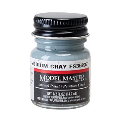 Testors Model Master Medium Gray 35237: Toys & Games