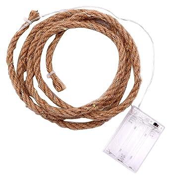 cuerda CHshe❤❤ la paja de de Luz de Producción bricolaje 0wOPkn