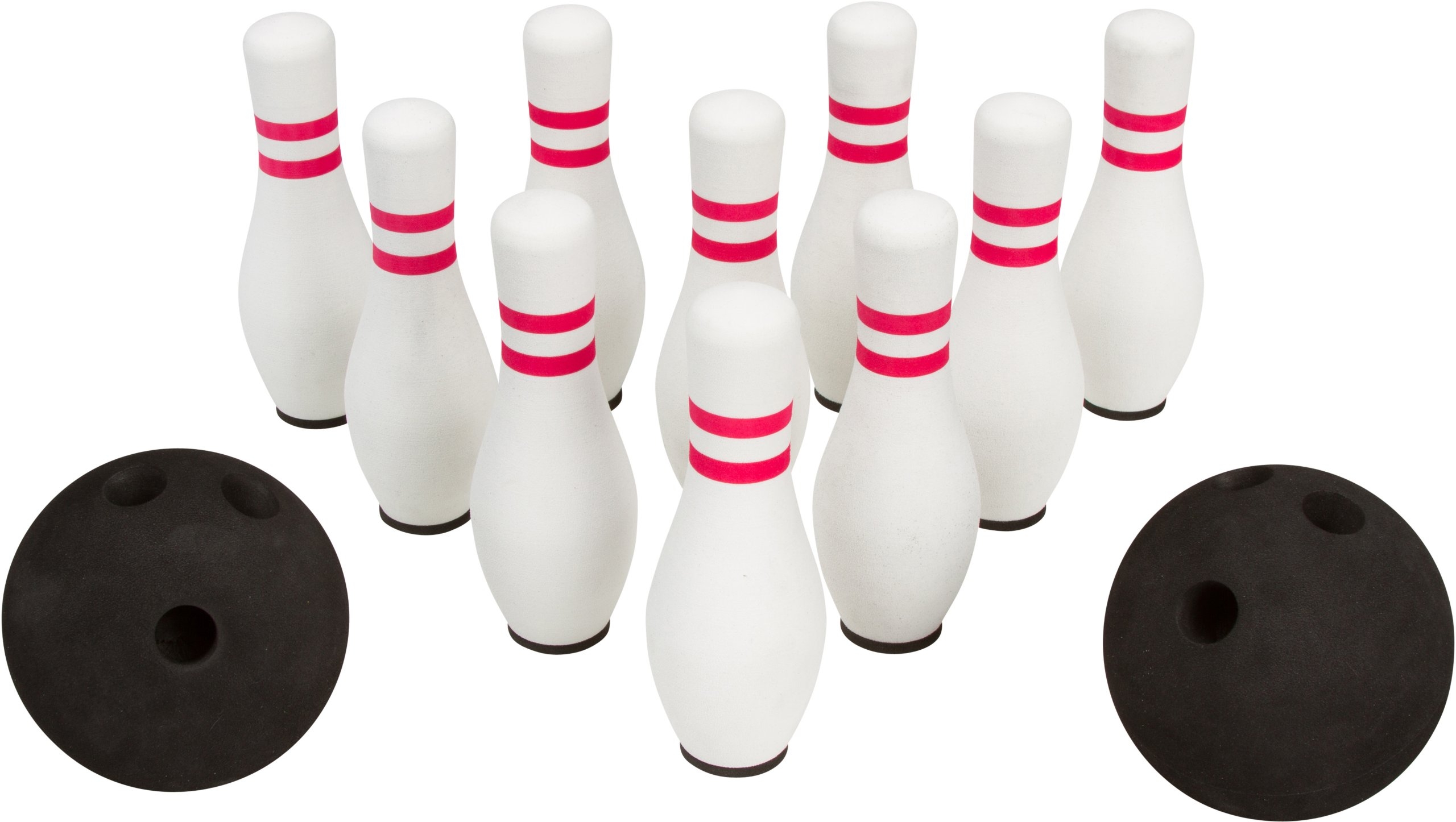 12- Piece Foam Bowling Set - 10 Pins & 2 Balls By Allures & Illusions