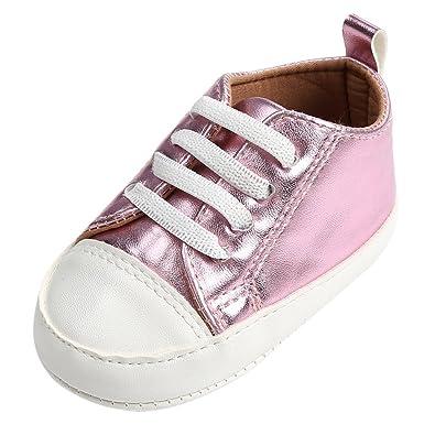 835f8c22655d7 Minuya Chaussures Premiers Pas pour Bébé (Garçon) - Rose - Pink #1 ...