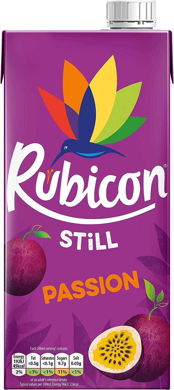Rubicon Zumo Fruta De La Pasion: Amazon.es: Alimentación y ...